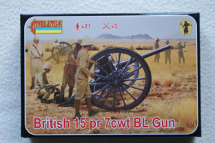 Strelets 1/72 ST0177 British 15 Pdr 7 cwt BL Gun (Colonial)